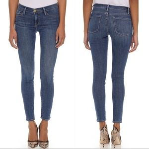 FRAME denim le skinny de jeanne Huntley size 28